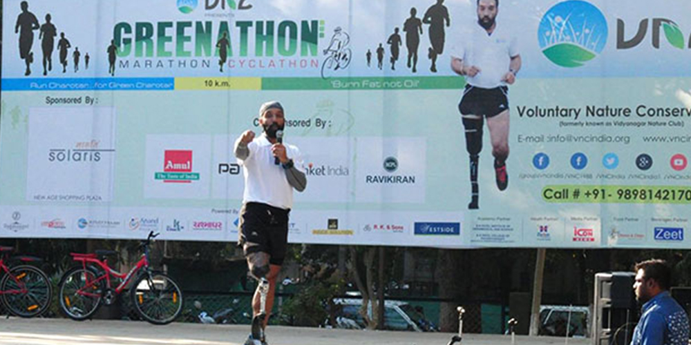 Greenathon Major DP Singh