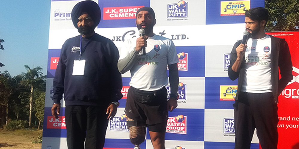 SwachhAbility Run (Major DP Singh)