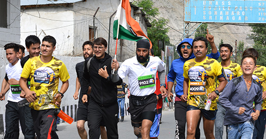 Kargil International Marathon Major Dp Singh