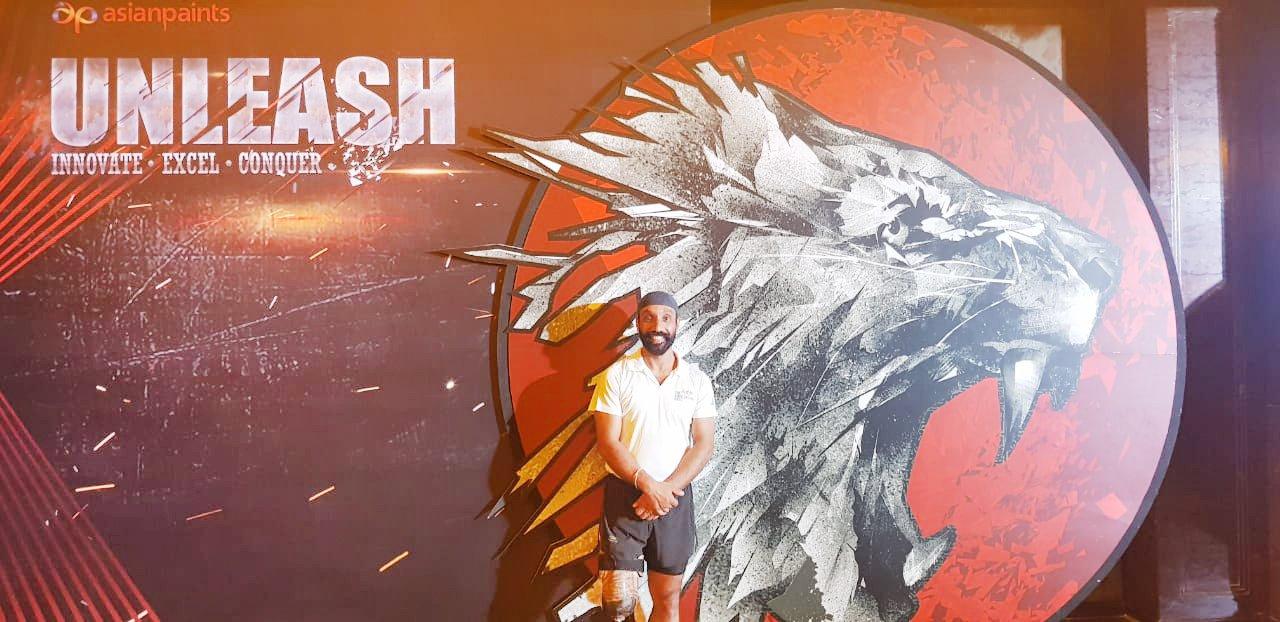 Major DP Singh at Asian Paints