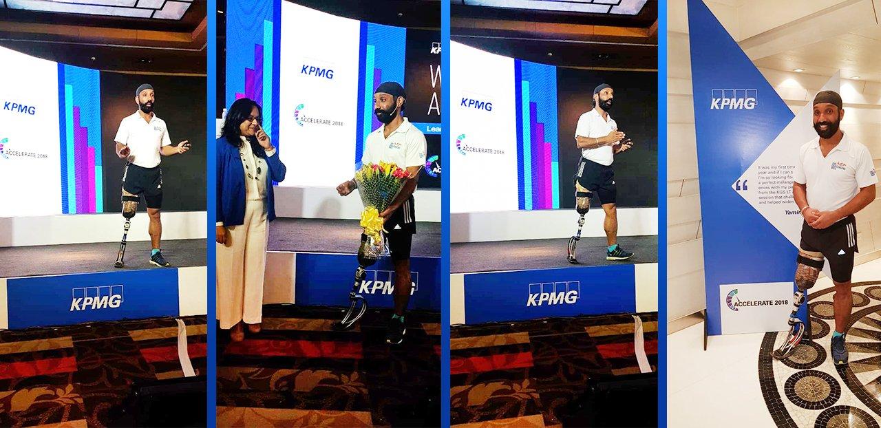 Major DP Singh at KPMG
