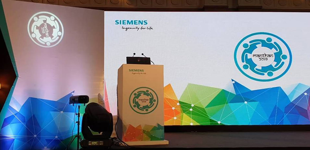 Speaking session with Siemen